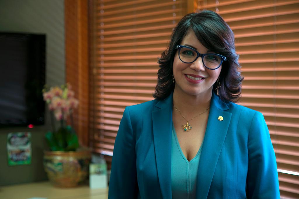 Josefina Navarro, vicepresidente de Comunicación Corporativa y Responsabilidad Social del Banco BHD León
