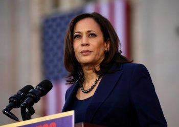 Kamala Harris, vicepresidenta de EEUU. | Elijah Nouvelage, Reuters.