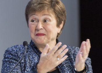 La directora gerente del FMI, Kristalina Georgieva. | Alessandro Della Valle, EFE.