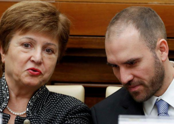 Kristalina Georgieva y Martín Guzmán, Argentina Deuda