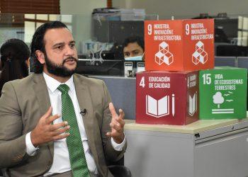 Luis Madera Sued, director general de Desarrollo Económico y Social, del Ministerio de Economía, Planificación y Desarrollo.