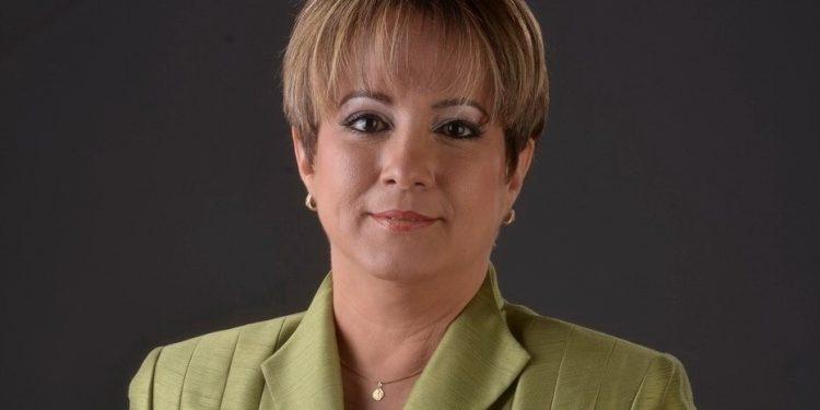 La presidenta ejecutiva de ADAFP, Kirsis Jáquez.