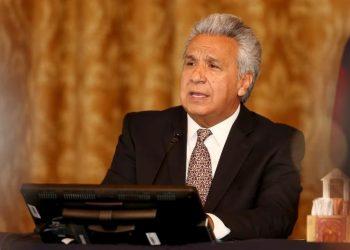 Lenín Moreno, presidente de Ecuador.   EFE.