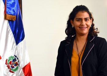Lety Melgen, directora de Análisis y Coordinación de la Cooperación Internacional.