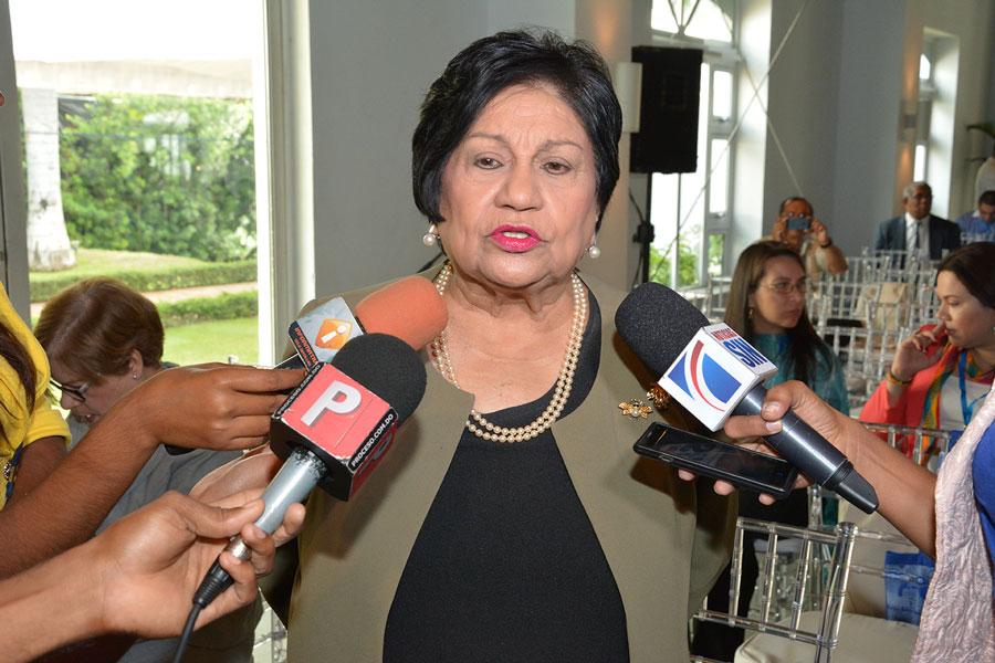 La ministra de Educación Superior, Ligia Amada Melo, considera que el país ha avanzado mucho en el sector./Gabriel Alcántara
