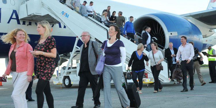 En el período enero-septiembre de este año  arribaron 3.3 millones de turistas vía aérea.