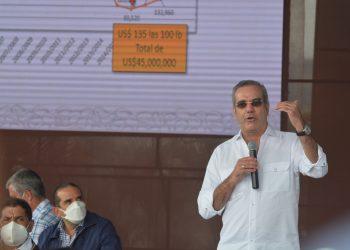 El presidente de la República, Luis Abinader.