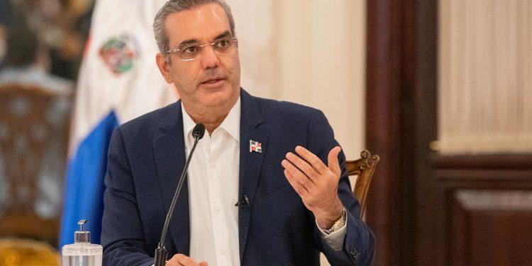 El presidente Luis Abinader.   Fuente externa.