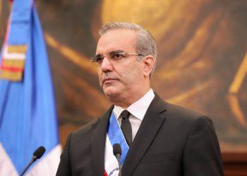 El presidente Luis Abinader.