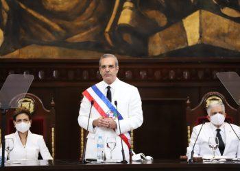 Luis Abinader discurso de toma de posesion