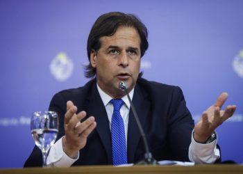 El presidente de Uruguay, Luis Lacalle Pou. | Federico Anfitti, EFE.
