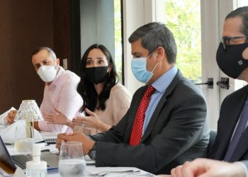 Luis Manuel Pellerano, Susana Martinez Nada, Héctor Díaz Santana y Jaime Senior.