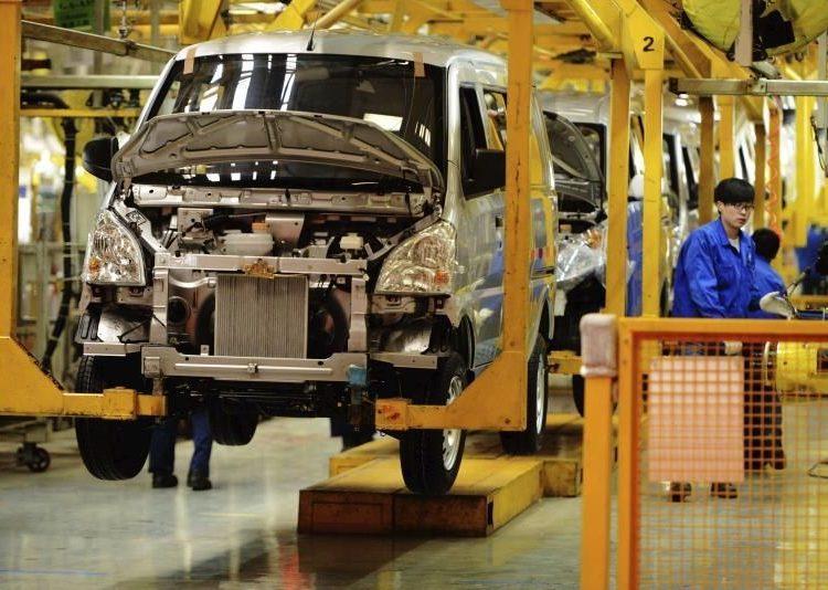 Manufactura China, actividad industrial