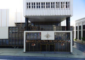 Sede del Banco Central de Nicaragua. | Zenia Núñez, Wikipedia.