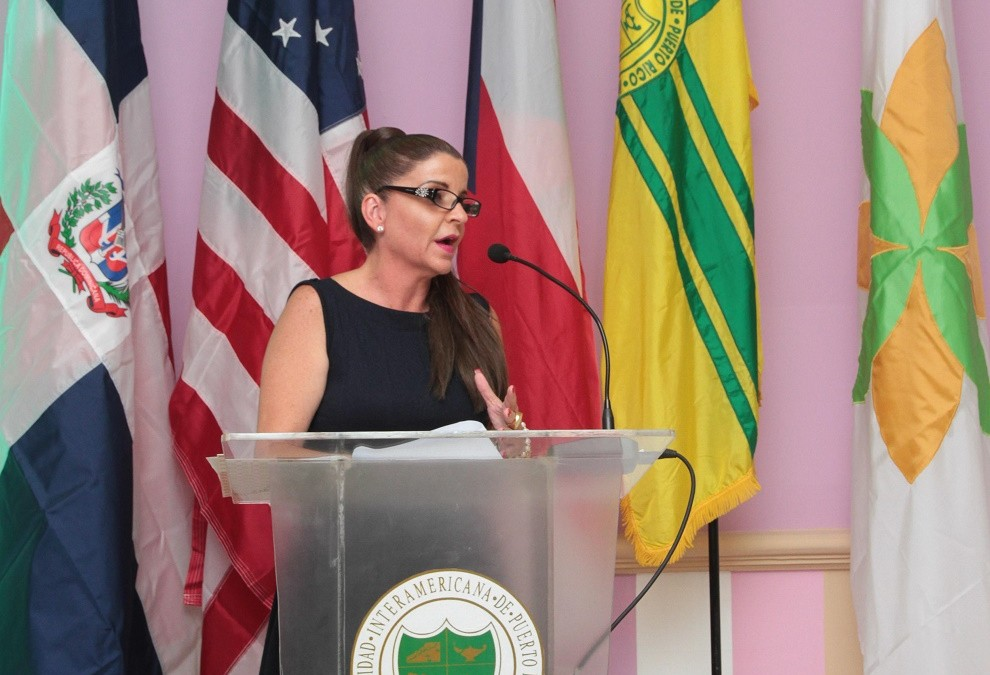 Marcia Patricia Isa Nadal, viceministra de Turismo.