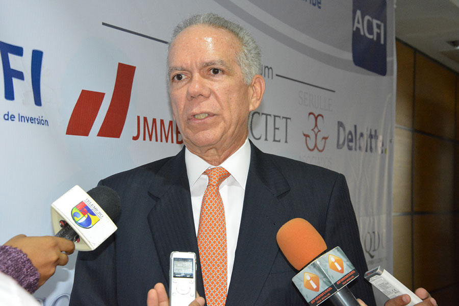 Marcos Troncoso, presidente de la Asociación Dominicana de Sociedades Administradoras de Fondos de Inversión (Adosafi). | Gabriel Alcántara