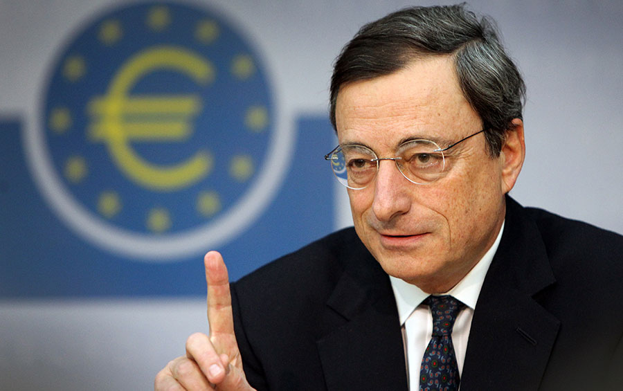 Mario Draghi, presidente del Banco Central Europeo (BCE). | Fuente externa