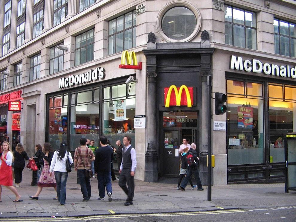 mcdonald's london