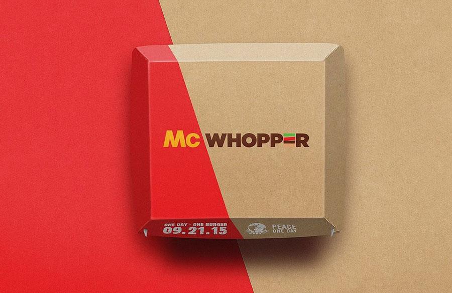 A McDonald's no le ha impresionado el despliegue publicitario. | Fuente externa