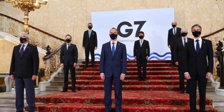 Ministros Exteriores G7
