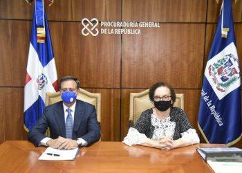 Jean Alain Rodríguez y Miriam Germán Brito. / Fuente externa