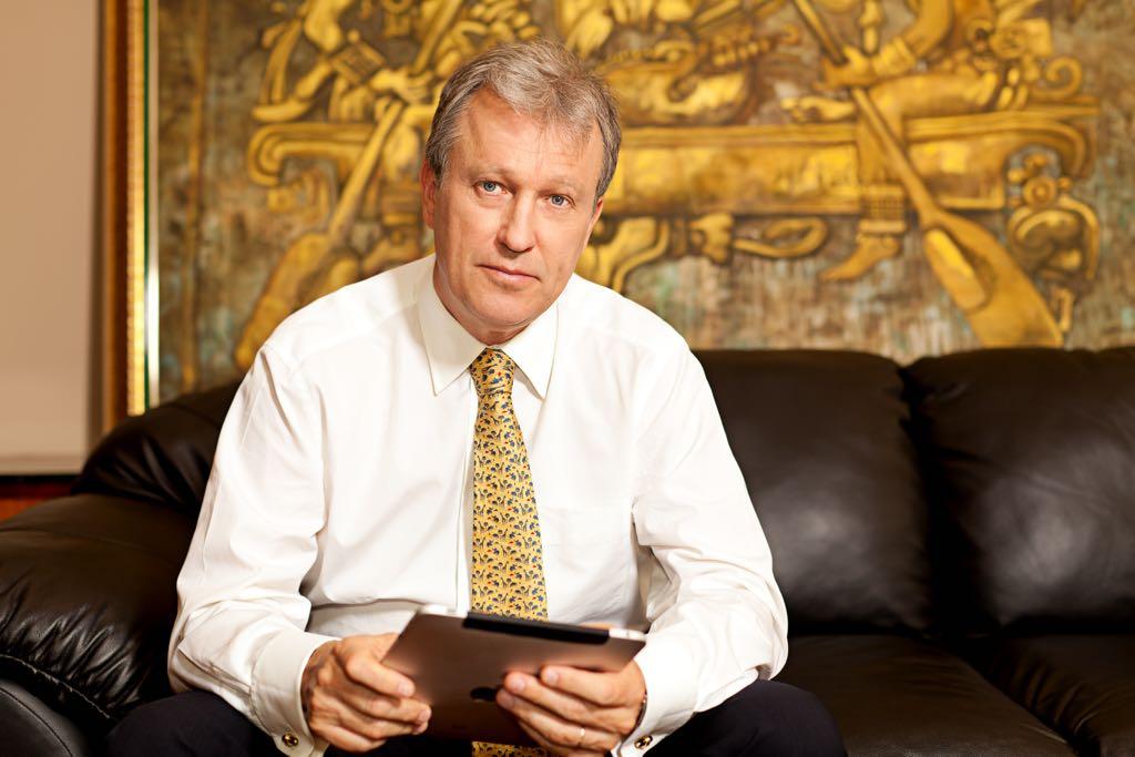 nick rischbieth, presidente ejecutivo del bcie.