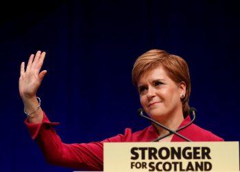 La primera ministra de Escocia, Nicola Sturgeon. | Russell Cheyne, Reuters.
