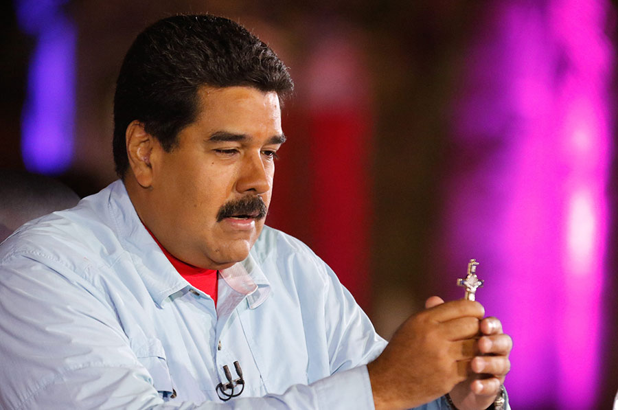 Nicolás Maduro, presidente de Venezuela, en foto de archivo./Fuente externa