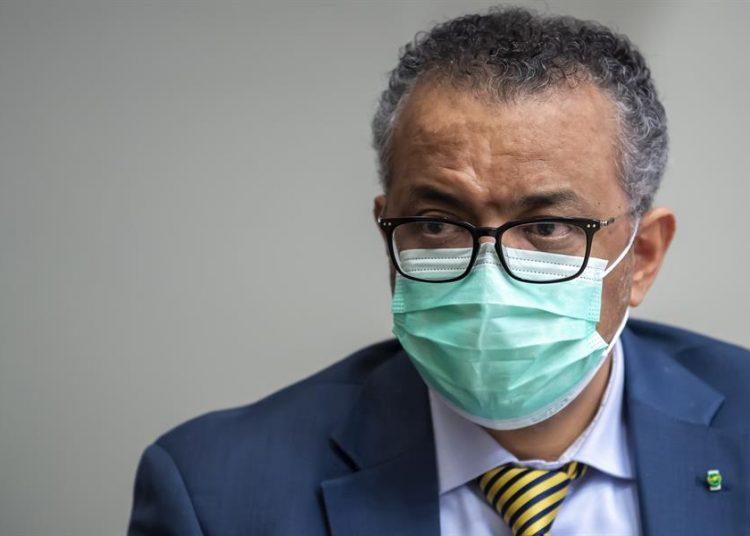 El director general de la Organización Mundial de la Salud (OMS), Tedros Adhanom Ghebreyesus. | Martial Trezzini, EFE.