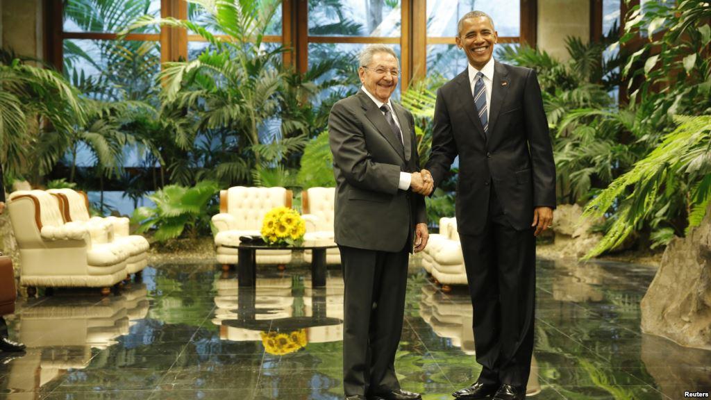 Los mandatarios Raúl Castro y Barack Obama se reunieron en La Habana en marzo de 2016
