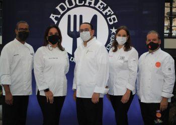 Luis de la Nuez, Patricia De Marchena, Alejandro Abreu, Elaine de Windt y Leandro Diaz.