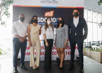 Samuel Núñez, Karla Martin, María Alejandra Antuñano, Marlenny Peña y Modesto Reyes.