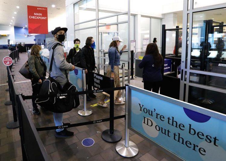 Pasajeros, aeropuerto EEUU