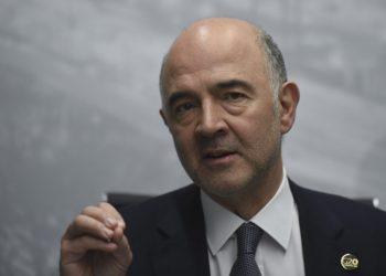 El ministro de Economía de Francia, Pierre Moscovici. | Eithan Abramovich; AFP; Getty Images.