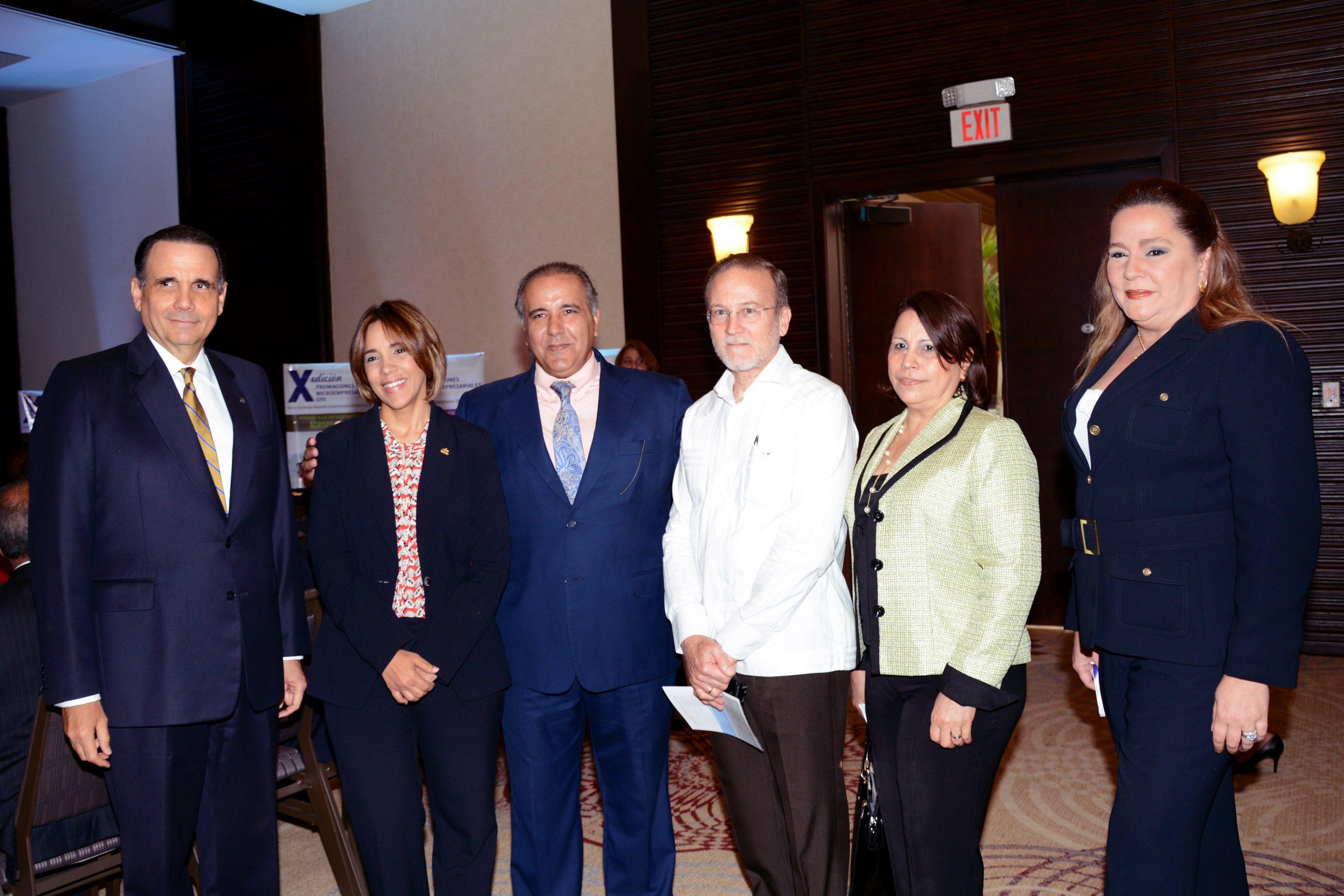 Miembros del Comité Organización y del Jurado de los Premios Citi.