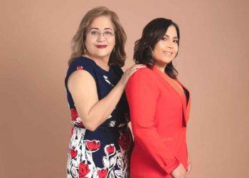 Olga Arbaje y Sheila Ochoa.  | Cortesía