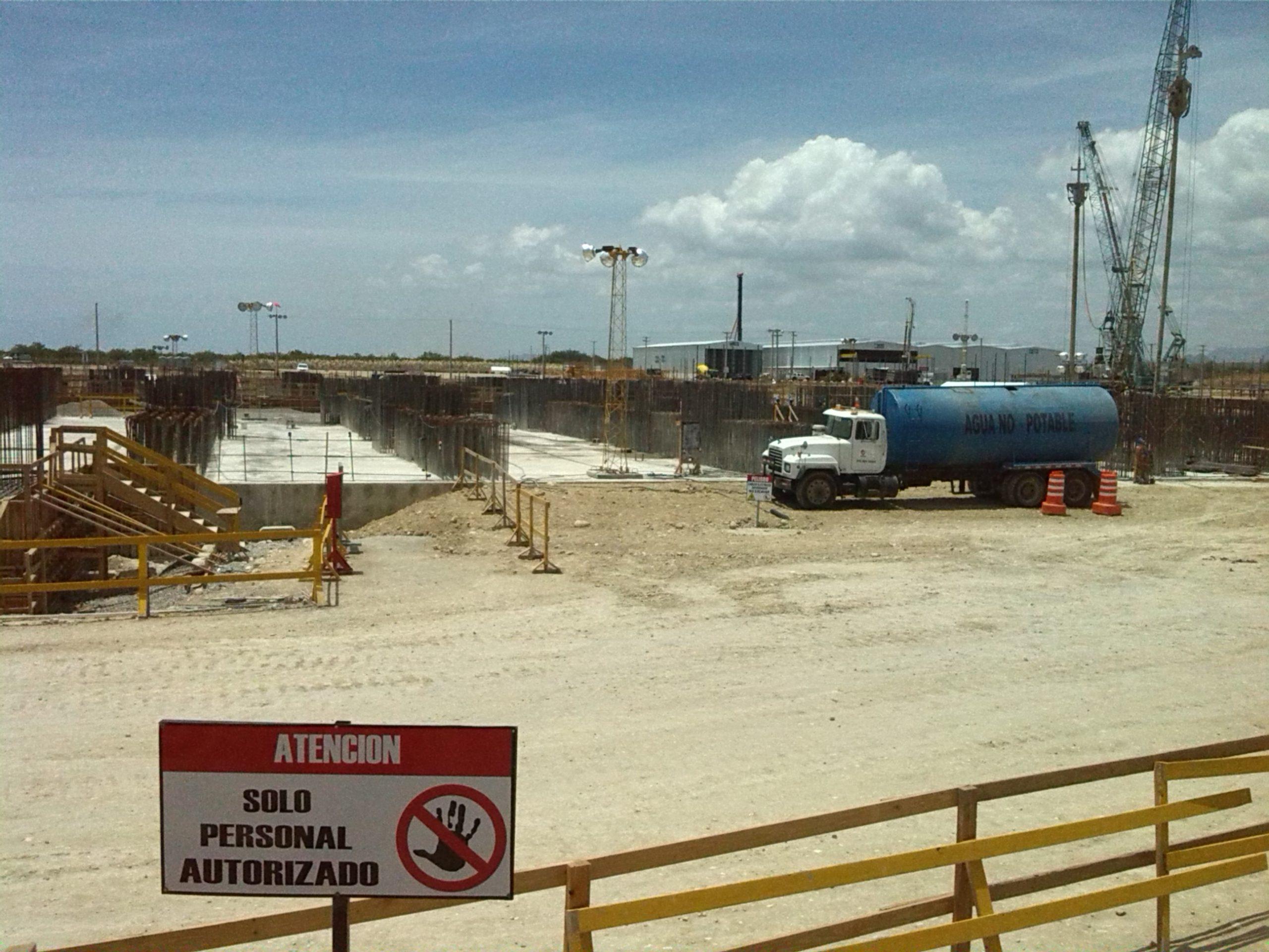 Las labores de ingeniería se concentran en terminar la plataforma en donde serán instaladas las turbinas y calderas de las centrales energéticas.