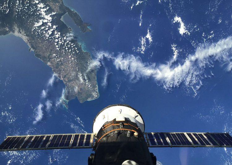 Fotografía de República Dominicana desde el espacio. | ISS.
