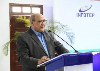 El director general del Instituto Nacional de Formación Técnico Profesional (Infotep), Rafael Santos Badía.