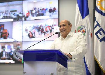 Rafael Santos Badía, director general del Infotep.