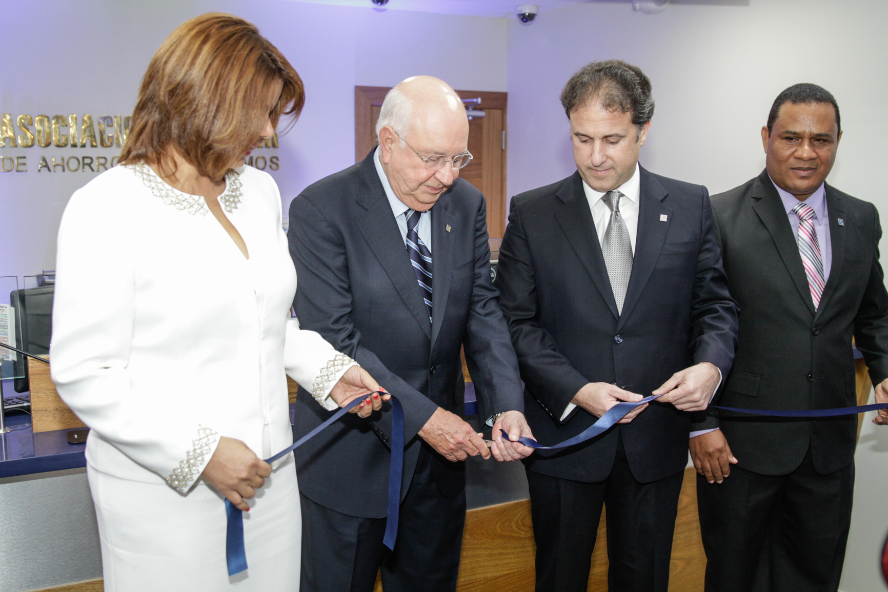 Ramona Marte, Hipólito Herrera, Gustavo Ariza y Juan Pérez  Jiménez./elDinero