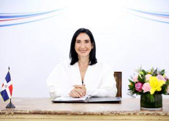 La primera dama de República Dominicana, Raquel Arbaje de Abinader.