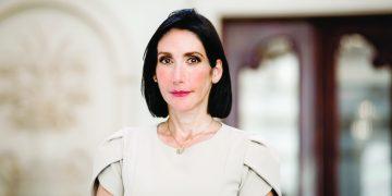 Raquel Arbaje Soni, primera dama de la República. |Luis Betances
