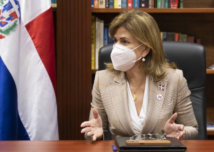 Raquel Peña, vicepresidenta de la República.