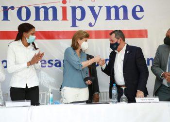Raque Peña destacó que el sector de las mipymes es muy significativo.