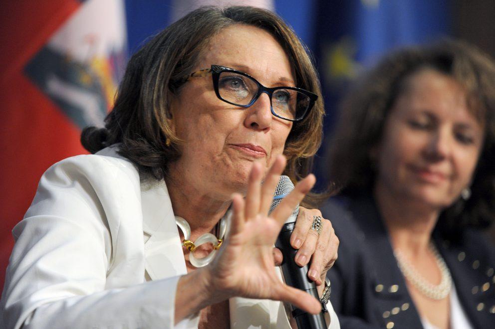 Rebeca Grynspan, titular de la Secretaría General Iberoamericana (Segib). | ERIC PIERMONT / AFP