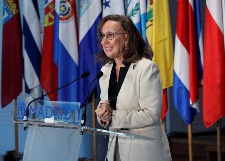 Rebeca Grynspan, secretaria general iberoamericana.   EFE.