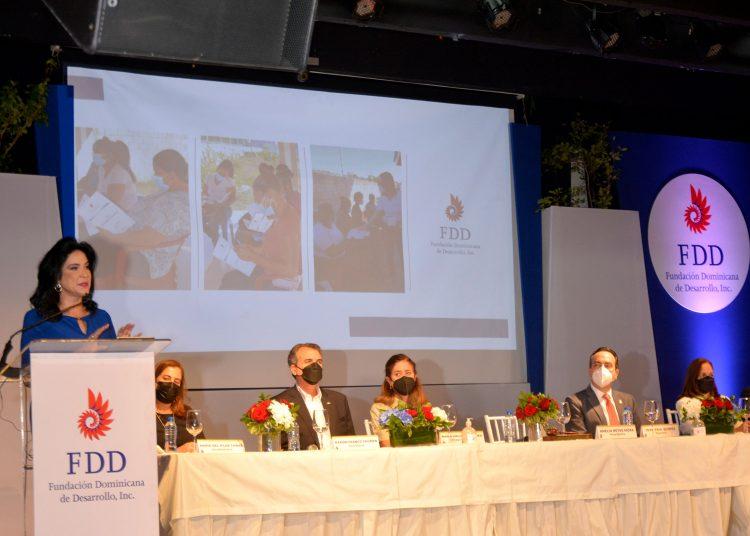 Celebración de la asamblea 55 de la Fundación Dominicana de Desarrollo (FDD).   Lésther Álvarez