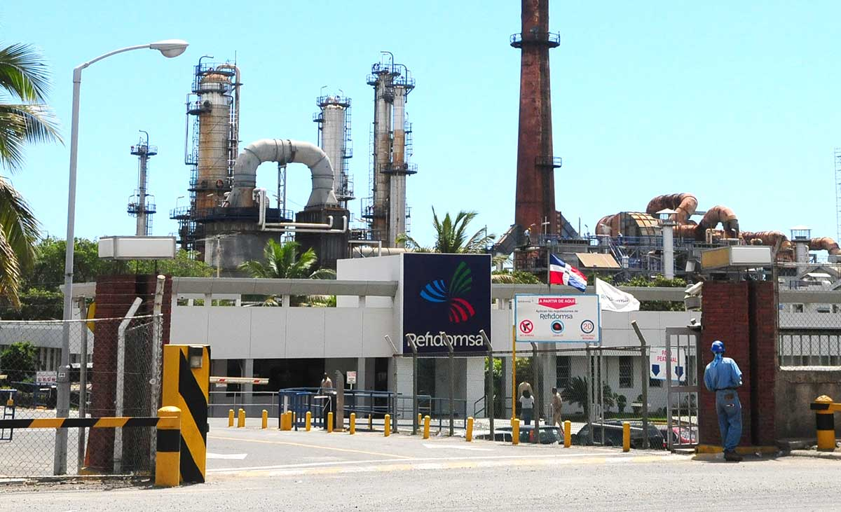 refidomsa petroleo refineria