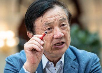 El fundador y consejero delegado de Huawei, Ren Zhengfei. | Qilai Shen.